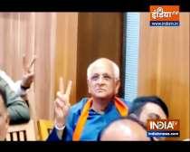 Gujarat CM-designate Bhupendra Patel meets Deputy CM Nitin Patel