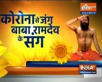 Know from Swami Ramdev yoga asanas, ayurvedic remedies for all-round development of children