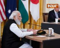 PM Modi addresses Quad meeting, says - we will work as a