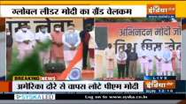 PM Narendra Modi receives grand welcome in Delhi