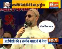 FIR registered against Owaisi for allegedly provoking communal disharmony, flouting COVID norms