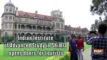 Indian Institute of Advanced Study in Shimla opens doors for tourists