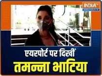Yami Gautam promotes Bhoot Police, Tamannaah Bhatia spotted at airport