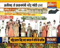 PM Modi lays the foundation stone of Raja Mahendra Pratap Singh State University