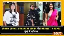 Sunny Leone, Sonakshi Sinha and Parineeti Chopra spotted in Mumbai