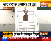 PM Modi leaves for US to attend Quad Leaders