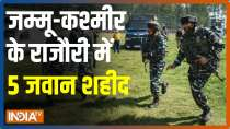 Five Army personnel martyred during anti-insurgency operation in Jammu-Kashmir