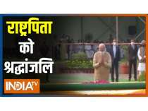 PM Modi pays tributes to Father of nation on the eve of Gandhi Jayanti
