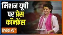 Priyanka Gandhi blows poll bugle with the motto of
