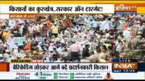 Watch Farmers protest from Karnal over paddy procurement delay