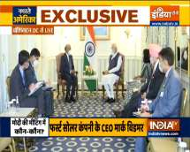 PM Modi in US: Meets leading American CEOs from key sectors