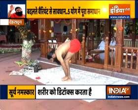 Strengthen yourself with yoga and pranayama