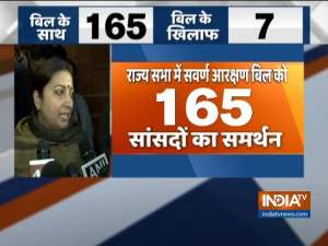 Rajya Sabha passes Quota Bill, here is how top leaders reacted