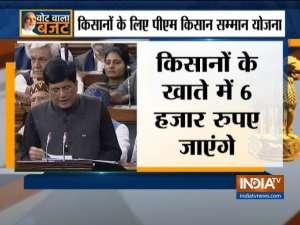 Union Budget 2019: Piyush Goyal's full speech in Lok Sabha - Part 1
