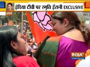 Under the leadership of PM Modi, BJP will win with a huge margin in Amethi, says Smriti Irani