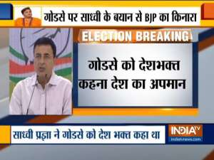 Congress attacks BJP, says India's soul is under attack by successors of Godse