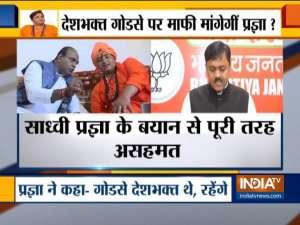 BJP candidate from Bhopal Pragya Thakur says 'Nathuram Godse was a 'deshbhakt'