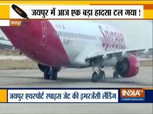 SpiceJet flight makes an emergency landing at Jaipur airport