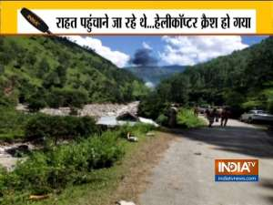 Three dead as helicopter involved in rescue operation crashes in Uttarakhand's Uttarkashi