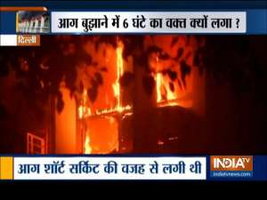 Delhi AIIMS: Fire has been put off completely, comprehensive special fire audit will be conducted