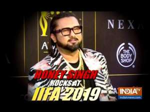Will strike back soon: Honey Singh at IIFA 2019