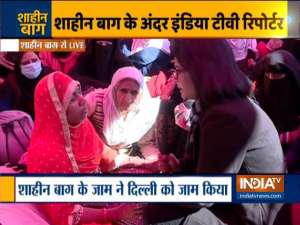 We have not been provoked, we know why we are sitting here, says women protesters at Shaheen Bagh