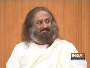 Sri Sri Ravi Shankar on Aap Ki Adalat: India's global image is improving under PM Modi
