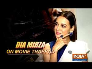 In an exclusive conversation with Dia Mirza about her upcoming film Thappad