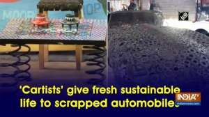 'Cartists' give fresh sustainable life to scrapped automobiles