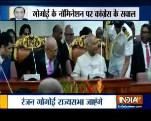 Congress raises questions over former CJI Ranjan Gogoi's Rajya Sabha nomination
