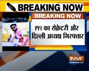 Delhi Police Special Cell arrests PFI president Parvez and Secretary Illiyas