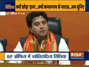 'Hurt' Jyotiraditya Scindia says Congress 'no longer what it used to be'