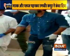 Rishi Kapoor's last rites performed amid strict lockdown rules