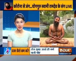 Mandukasana, vakrasanas, pawanmuktasana to treat diabetes: Swami Ramdev