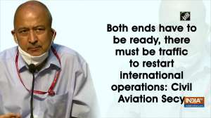 Both ends have to be ready, there must be traffic to restart international operations: Civil Aviation Secy