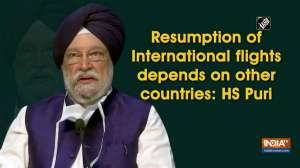 Resumption of International flights depends on other countries: HS Puri
