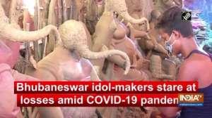 Bhubaneswar idol-makers stare at losses amid COVID-19 pandemic
