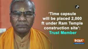 'Time capsule will be placed 2,000 ft under Ram Temple construction site': Trust Member
