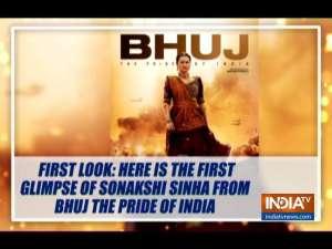 Bhuj: The Pride of India: Sonakshi Sinha's first look as Sunderben Jetha Madharparya