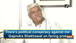 'There's political conspiracy against me': Gajendra Shekhawat on facing probe