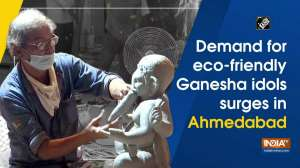 Demand for eco-friendly Ganesha idols surges in Ahmedabad