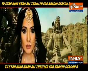 Here's what Hina Khan feels about working in Naagin 5