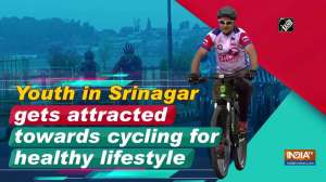 Youth in Srinagar gets attracted towards cycling for healthy lifestyle