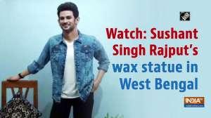 Watch: Sushant Singh Rajput's wax statue in West Bengal