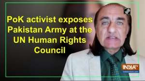 PoK activist exposes Pakistan Army at the UN Human Rights Council