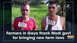 Farmers in Gaya thank Modi govt for bringing new farm laws