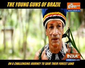 Young guns of Brazil on journey to save their forest land