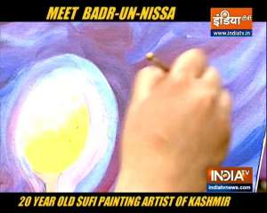 Here's how Sufi painter Badr-un-Nissa inspires people to use art as therapy