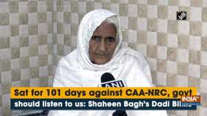 Sat for 101 days against CAA-NRC, govt should listen to us: Shaheen Bagh's Dadi Bilkis