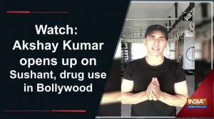 Watch: Akshay Kumar opens up on Sushant, drug use in Bollywood